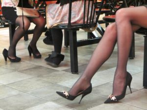 Vegas_legs at the foodcourt