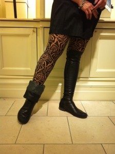 patterned hosiery from Wolford