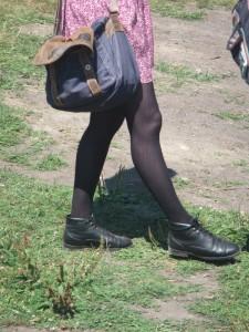 vancouver pride 2013 black pantyhose