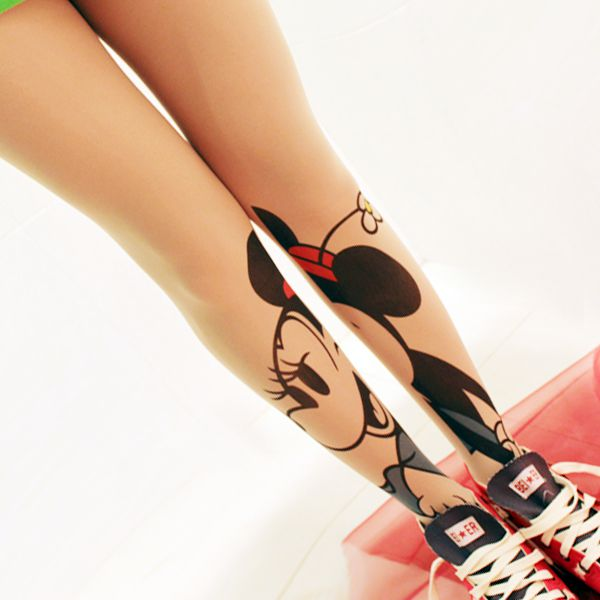 funny Minnie Mouse pantyhose