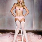 Doutzen_Kroes_in white stockings and suspenders