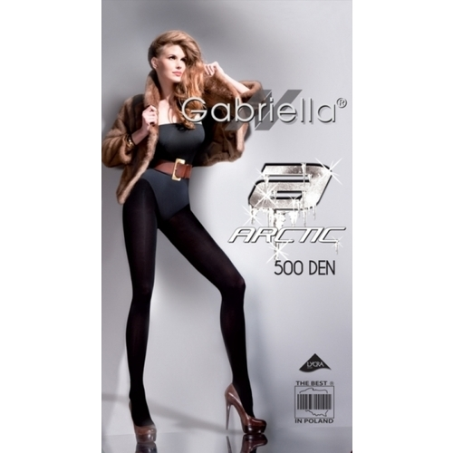 Rajstopy Arctic 500 den - fleece lined tights