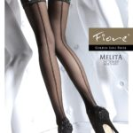 MELITA 20 den stay up stockings by Fiore brand