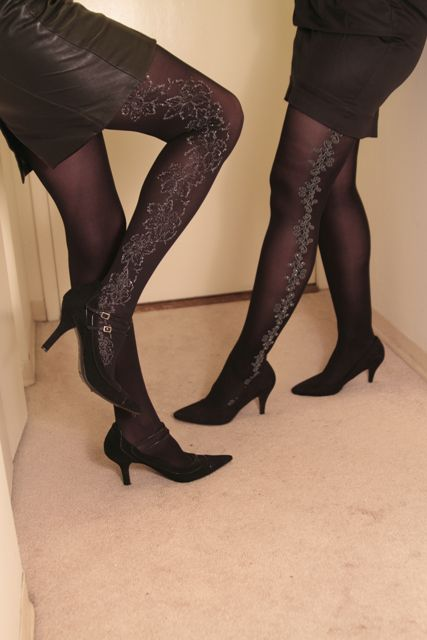 legs, models, photoshoot, heels, black, 40 den, hosiery, tights
