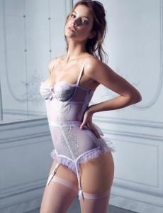 Barbara Palvin Victorias Secret Lingerie Photoshoot7