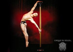 Dima Shine from Cirque Du Soleil
