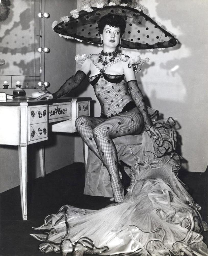 Gypsy Rose Lee burlesque dancer 10