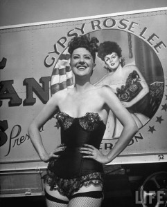 Gypsy Rose Lee burlesque dancer 6