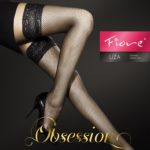 Liza fishnet stay up stockings by Fiore