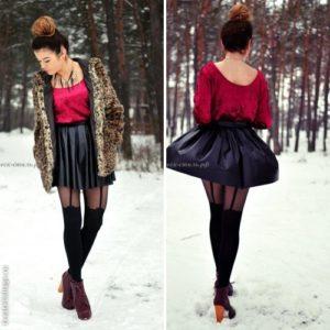 Milla by Fiore imitation tights