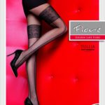 mock stocking pantyhose by Fiore with micromesh