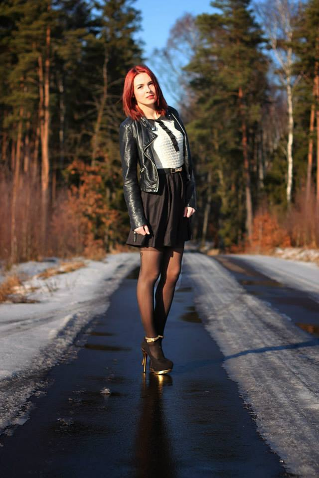 blogger apriel mock stocking tights by Fiore hosiery 1