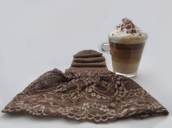 cappuccino stockings Sandrine