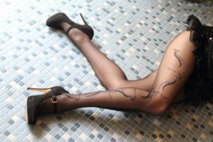 Kasima pantyhose with lurex by Fiore