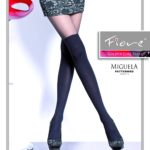 Fiore hosiery - mock stockings pantyhose - imitation of over the knee socks