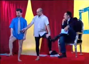gerbe pantyhose for men talkshow 2 french 2007