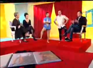 gerbe pantyhose for men talkshow 6