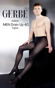 men drain up 40 pantyhose by gerbe
