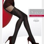 mock stocking pantyhose - suspender tights