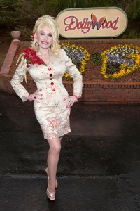 Dolly Parton in nude pantyhose in DollyWood