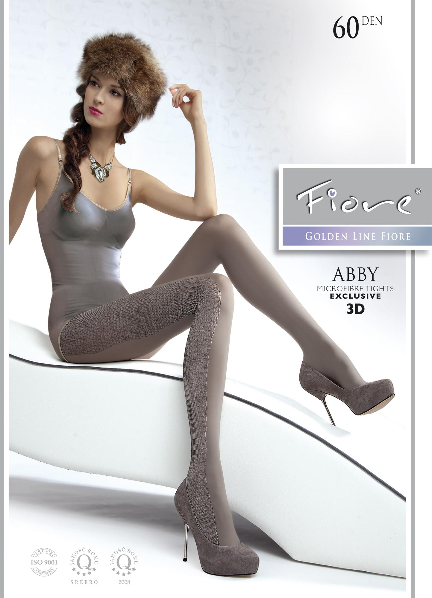 ABBY 60 den microfiber tights Fiore hosiery sale