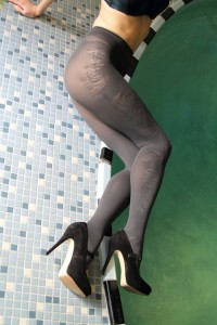 Dionisa graphite tights 60 den