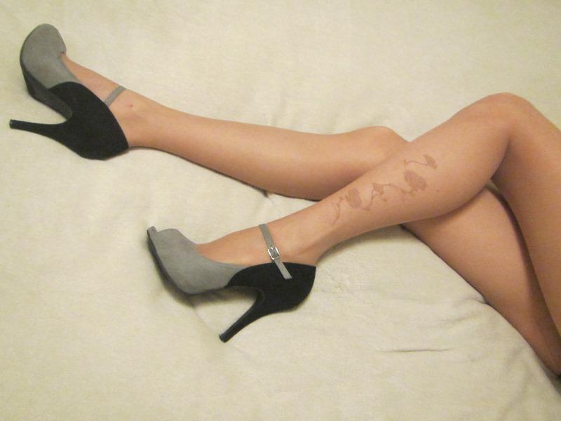 pantyhose, tights, 20 den, sheer, pattern