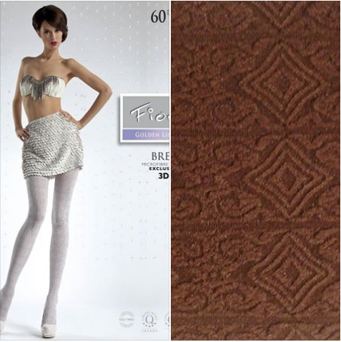bree tights in brown by fiore  split photo