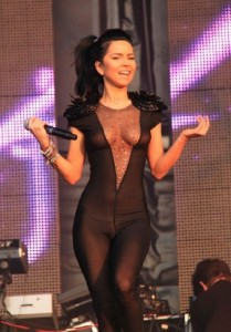 inna singer in nylon bodysuit 3