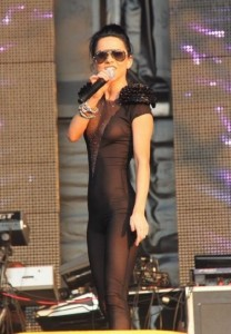 inna singer in nylon bodysuit 4