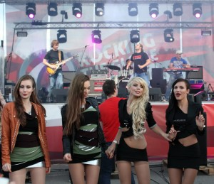 Russian party girls in pantyhose 3
