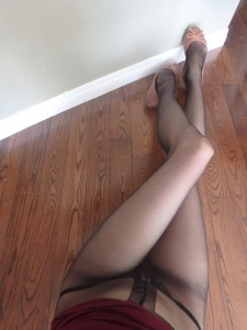 Helia tights by Fiore on my legs sheer to waist