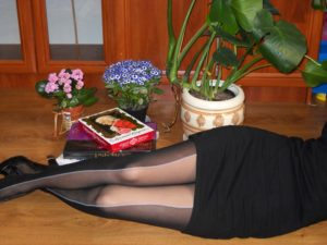 Faustina pantyhose Fiore 2 bicolour