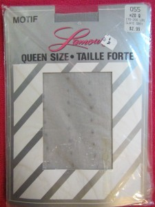 made in Canada - tights from the 80`s, 100% nylon