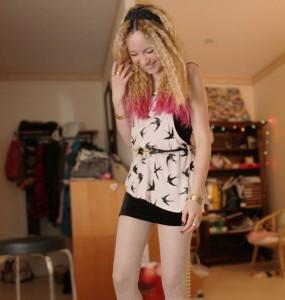 fun white pantyhose 1