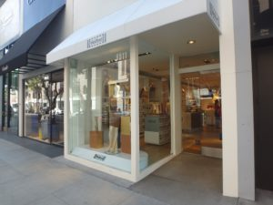 Wolford store on Rodeo drive in Los Angeles