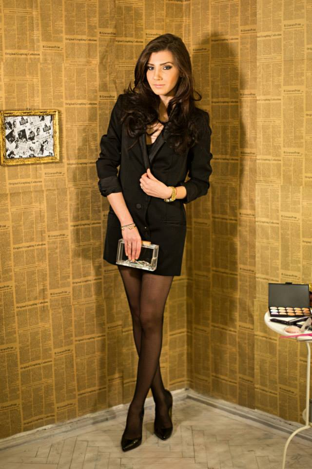gina pantyhose by Fiore with lurex backseam 3 on a blogger