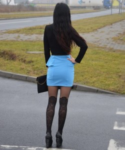 model Taya pantyhose by Fiore 3