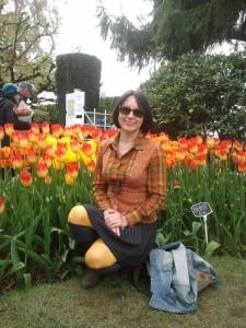 tulip festival natalia in cecilia de rafael pantyhose