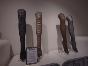 Wolford boutique - leg display - hosiery - California Outlet Mall