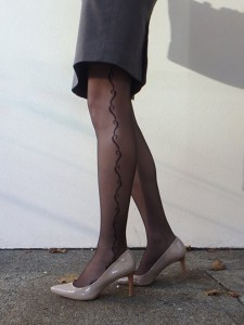 lizbeth pantyhose 20 den fiore on my legs
