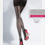 NAVARRA_40 den_ Patterned_tights_Fiore
