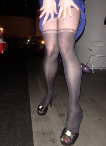 mock stocking tights