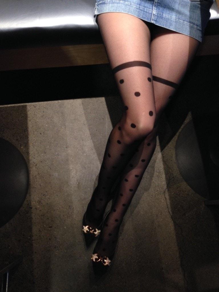 ardea tights on my legs
