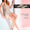 ultra sheer pantyhose-Gabriella-Exclusive-T-band-8-DEN