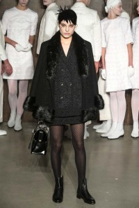 thom browne pantyhose on runway