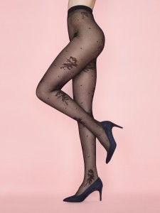 WINNIE ROSE 40 den tights by Fiore