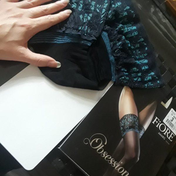 amaris stockings out of package