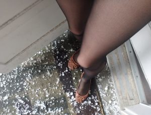 hail and pantyhose on my legs 4 (2)