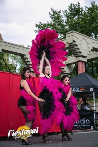 Fiestival Calgary Burlesque Dancers